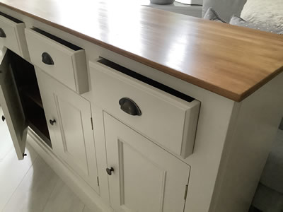 French painted dresser - Lymington New Forest Hampshire