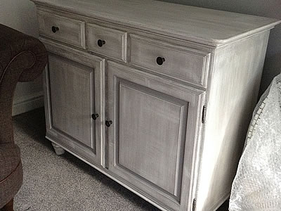 Shabby chic sideboard - Lymington New Forest Hampshire