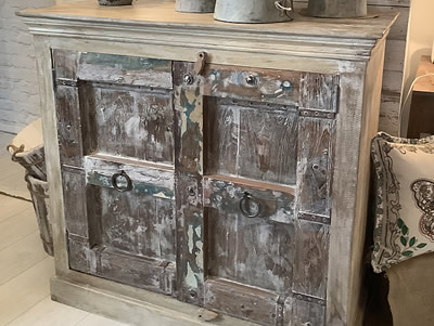 Painted cabinet - Lymington New Forest Hampshire